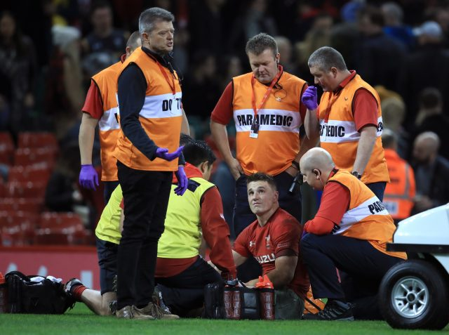 Wales have suffered a major injury blow