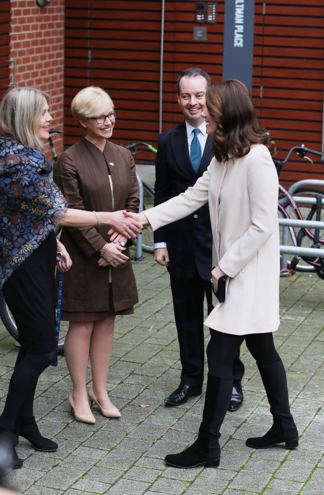 The Duchess of Cambridge visits Family Action at Hornsey Road Children's Centre (PA)