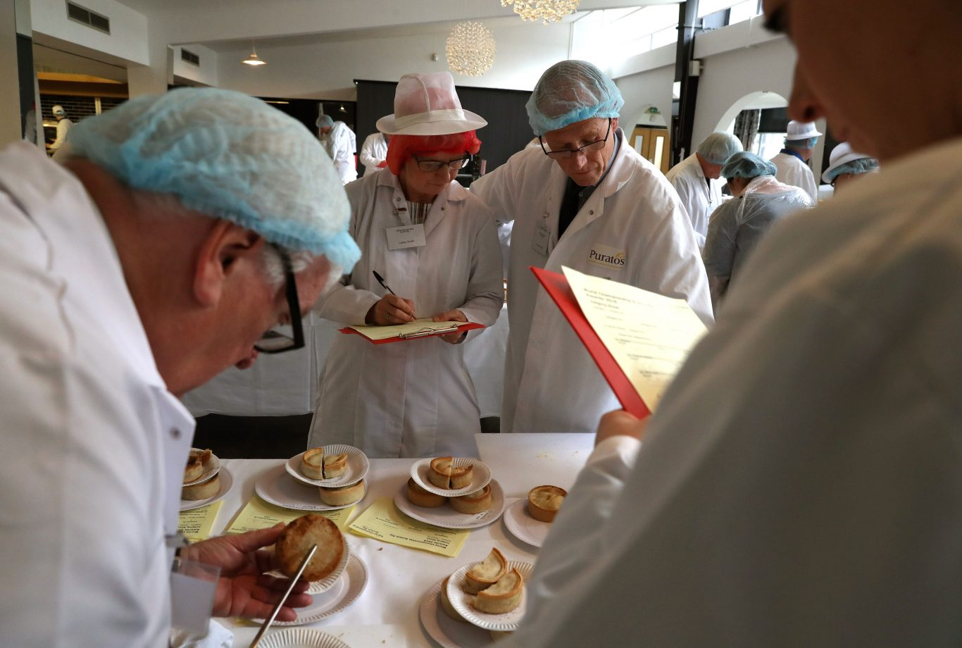 Scotch pie world championships (Andrew Milligan/PA)