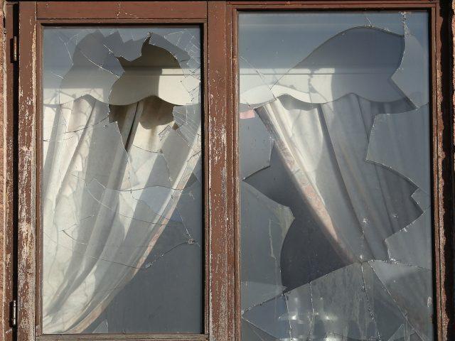 Damage to Mr Nicholls' home