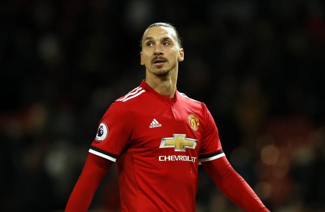 Zlatan Ibrahimovic re-signed for Manchester United earlier this season