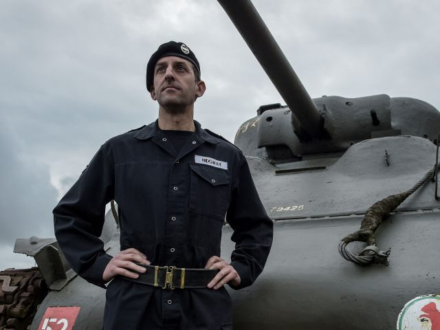 Lieutenant Colonel Simon Ridgway, Commanding Officer of The Royal Tank Regiment