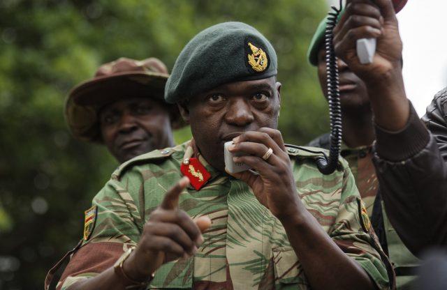 Zimbabwean Army General Moyo. (Ben Curtis/AP/PA)