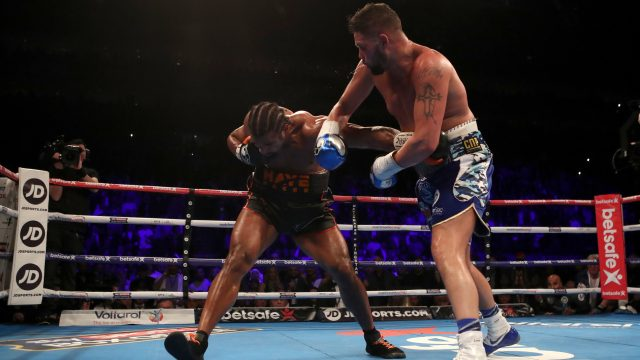 Tony Bellew beat David Haye the first time they fought in March this year