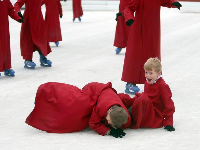 Choirboys on the ice