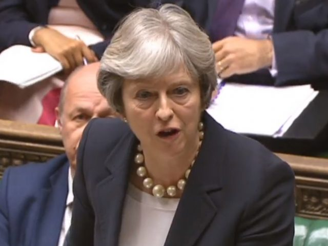 Theresa May answers Prime Minister's Questions ahead of the Budget