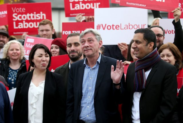 Scottish Labour's Richard Leonard was elected leader on Saturday (Jane Barlow/PA)