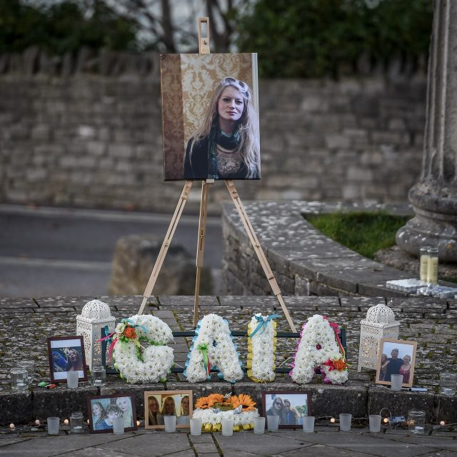 Gaia's body was found a week ago after she was missing for 11 days (Ben Birchall/PA)