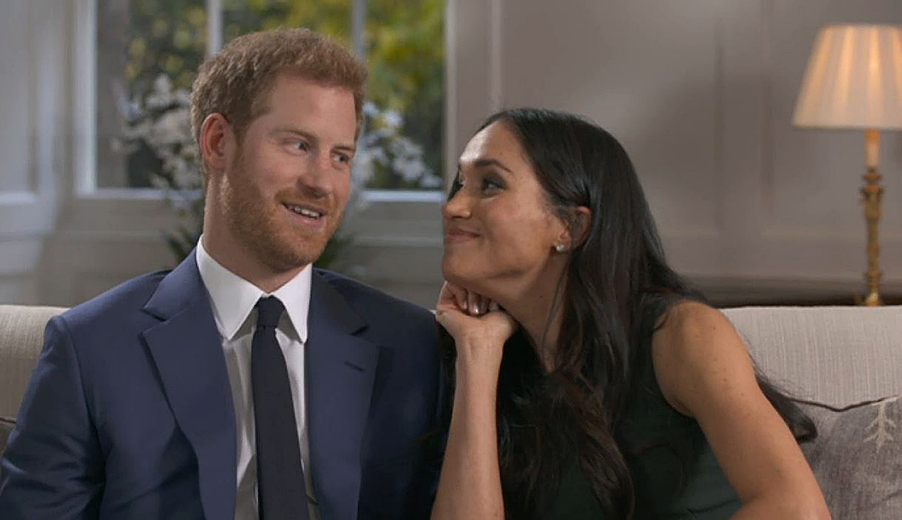 Watch: Prince Harry and Meghan Markle laugh and joke in BBC cutaway footage - The Sunday Post