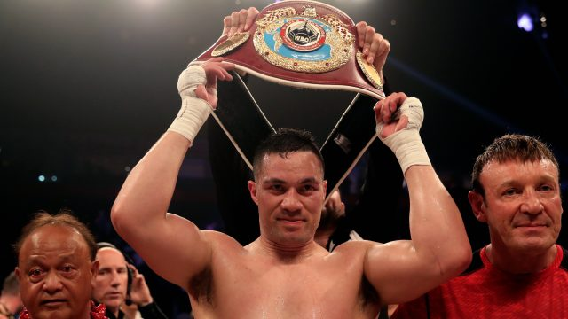 A deal could be reached shortly for Joseph Parker to fight Anthony Joshua