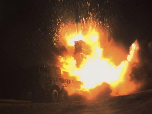 South Korea's Hyunmoo II missile is fired