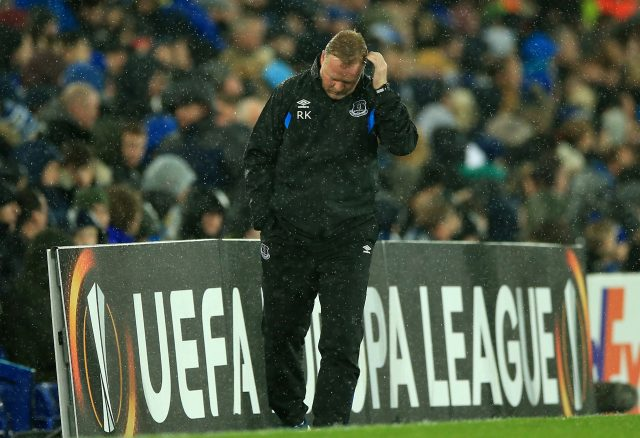 Ronald Koeman left Everton in trouble