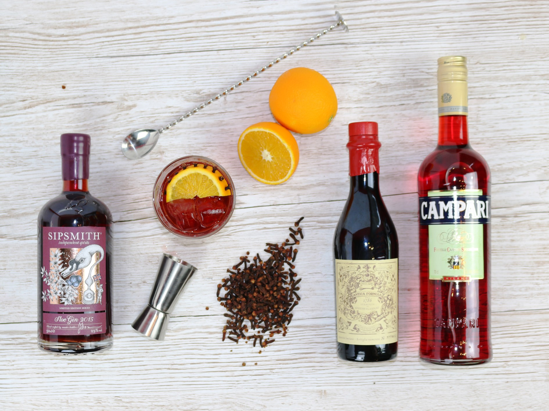 Sipsmith Sloe Gin and other spirits