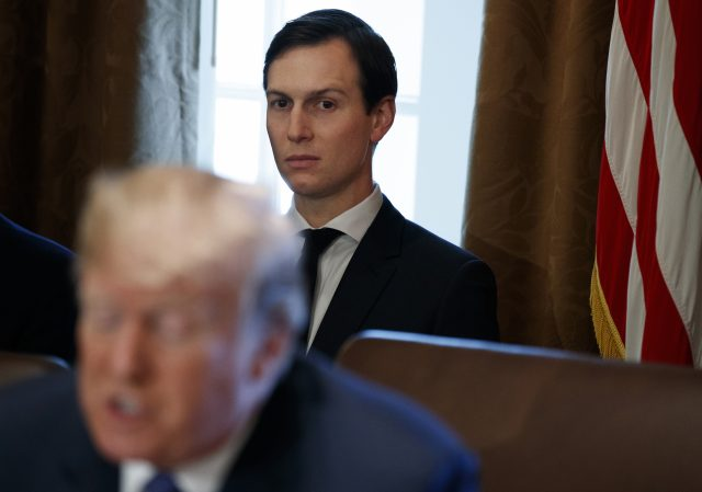 "Donald Trump's son-in-law Jared Kushner is said to be the ""very senior transition official"" referred to in court papers (Evan Vucci/AP)"