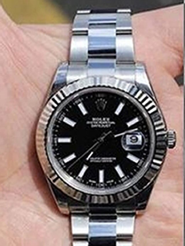 A silver Rolex watch similar to the one taken from Danny Pearce (Metropolitan Police/PA)