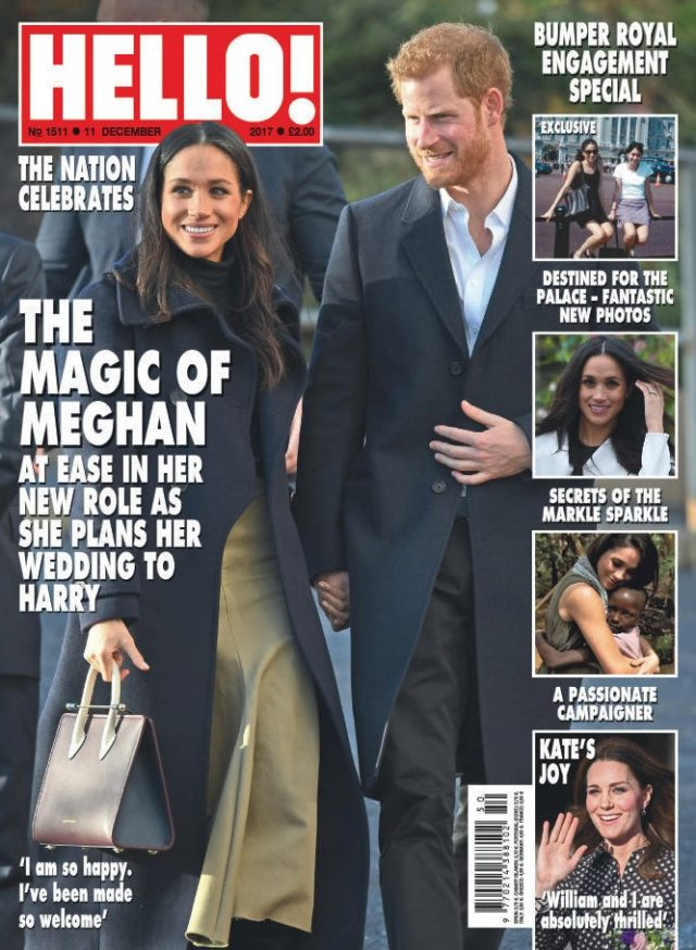 The latest cover of Hello!
