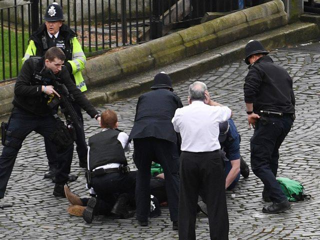 The arrest of Khalid Masood