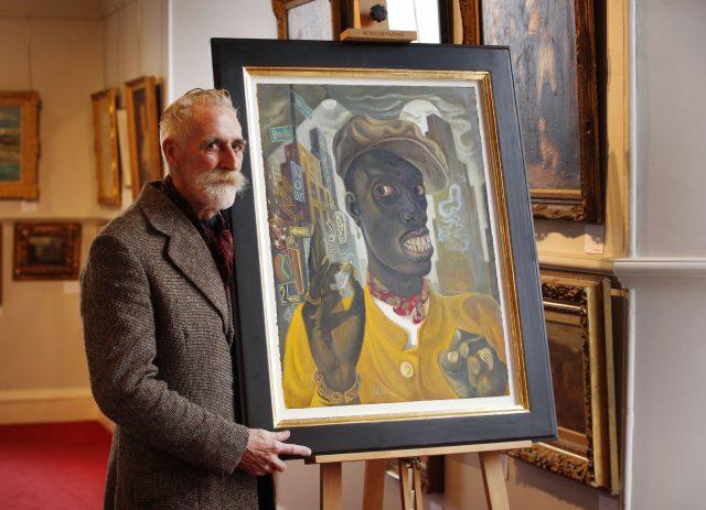 Artist John Byrne