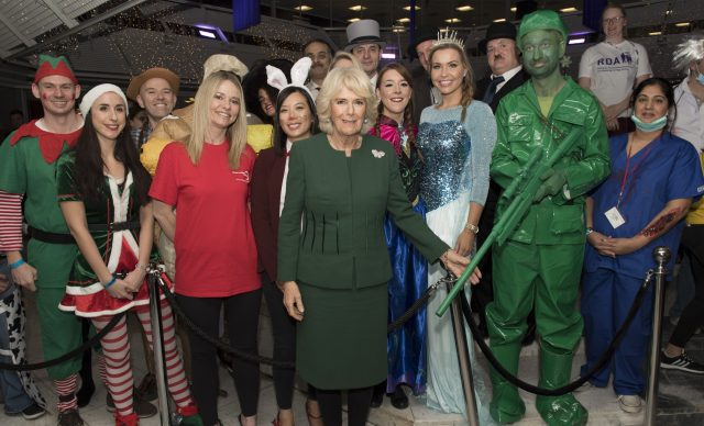 Camilla and more ICAP staff in fancy dress