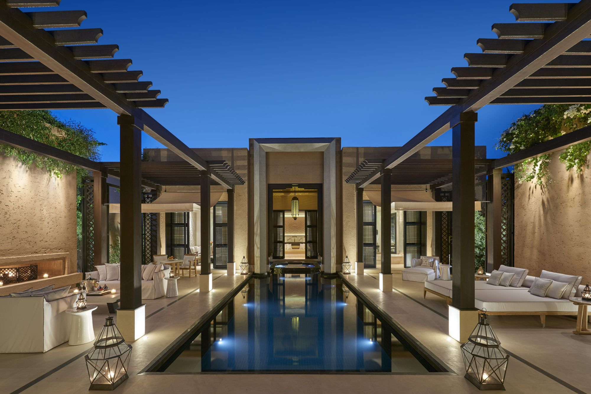 A Pool Villa at Mandarin Oriental Marrakech
