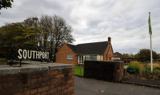 Southport Crematorium where Brady was cremated (Peter Byrne/PA Wire)