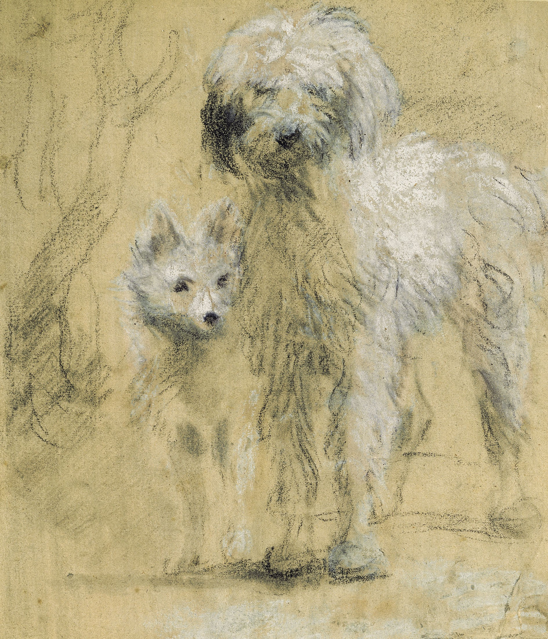 Tristram And Fox by Thomas Gainsborough (private collection)