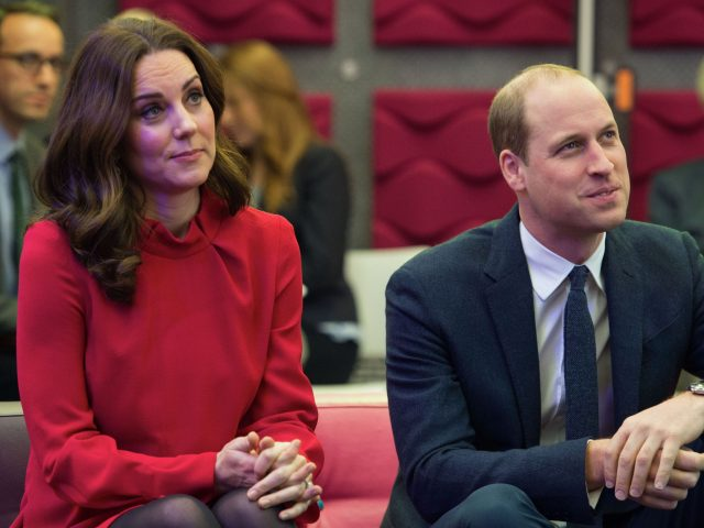 The Duke and Duchess of Cambridge at Media City in Salford