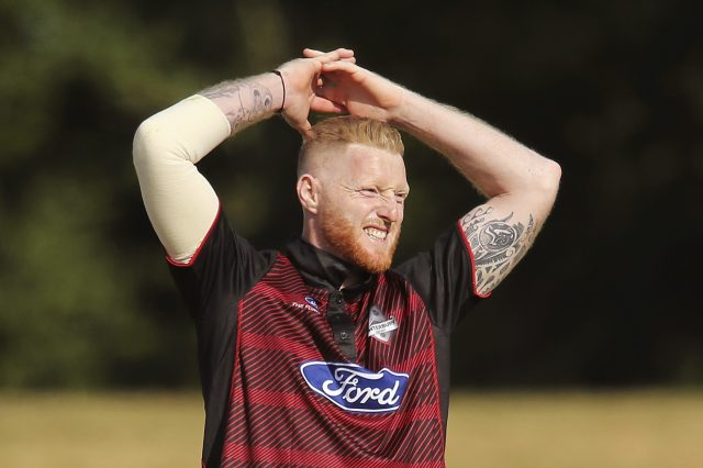 Ben Stokes in action for Canterbury Kings
