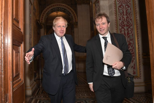 Foreign Secretary Boris Johnson met with Richard Ratcliffe in November ( Stefan Rousseau/PA)