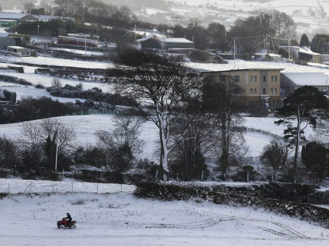 Quad-biking in Newry (Brian Lawless/PA)
