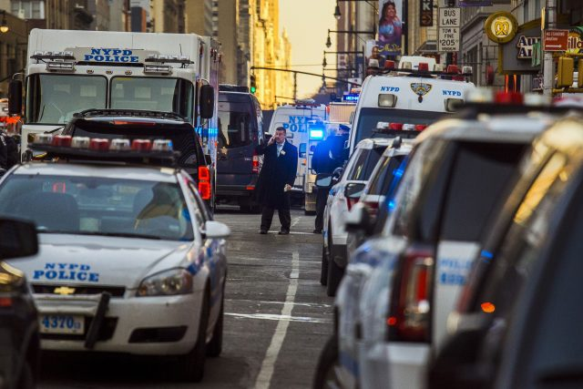 Police Are Investigating An Explosion In The Subway Near Times Square