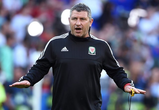 Osian Roberts is on the shortlist for the Wales manager's job (Joe Giddens/PA)