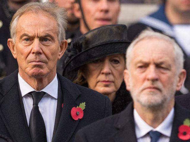 Tony Blair said that Jeremy Corbyn had
