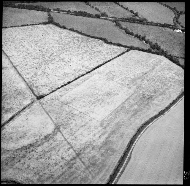 The Alchester Roman Parade Ground in Merton, Cherwell, Oxfordshire (Historic England/PA)