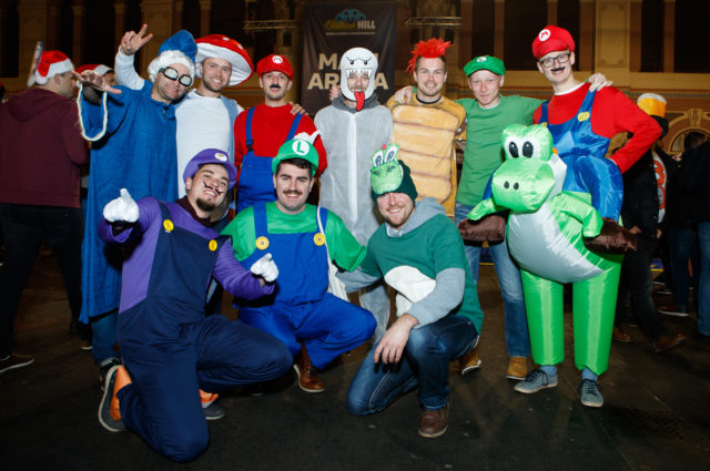Super Mario fancy dress