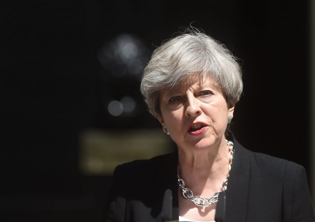 Theresa May is being quizzed by the Liaison Committee for the first time since the general election (Lauren Hurley/PA)