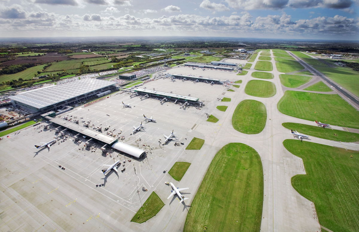 Stansted is the UK's fourth busiest airport (Emirates/PA)
