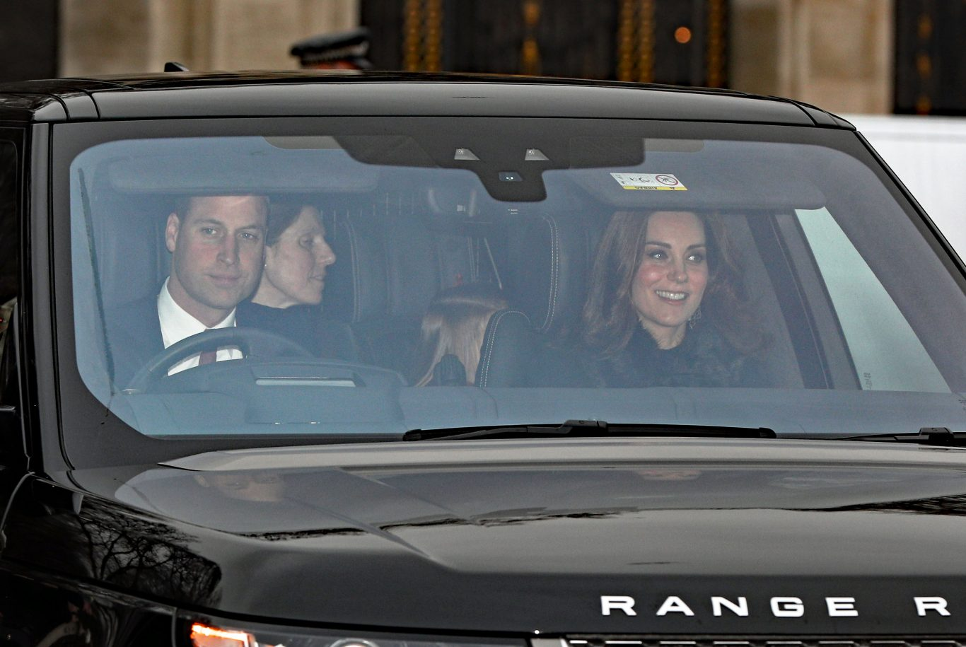 The Duke and Duchess of Cambridge also attended the lunch (Jonathan Brady/PA)