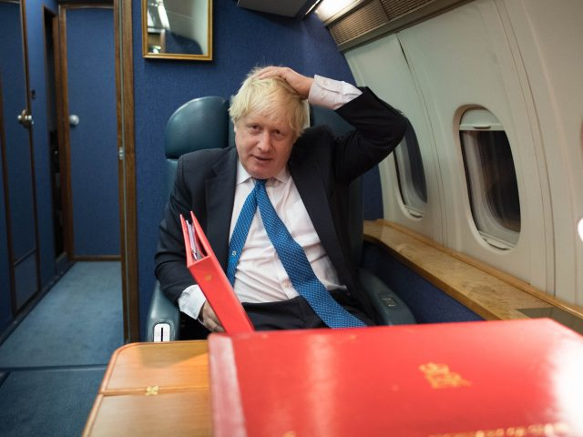 Boris Johnson heads to Moscow