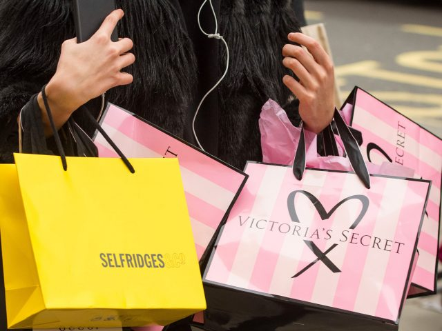 Shoppers splashed out on Oxford Street