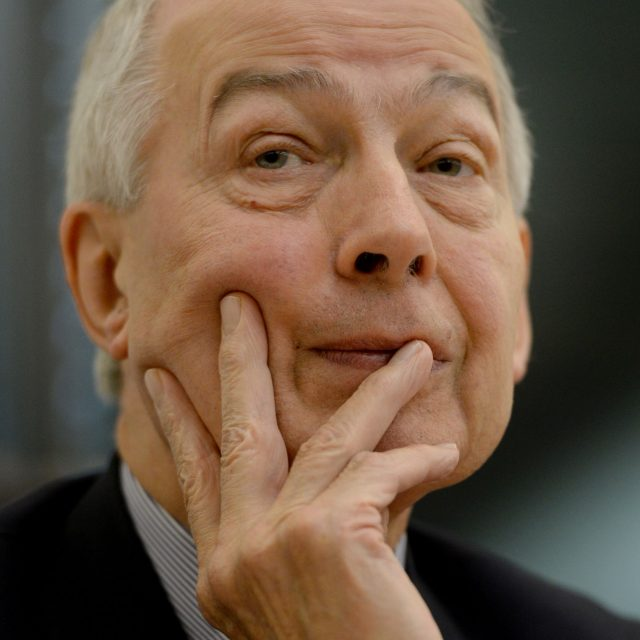Work and Pensions select committee chairman Frank Field