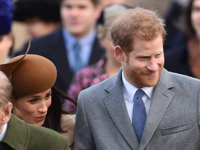 Prince Harry and Meghan Markle arrive