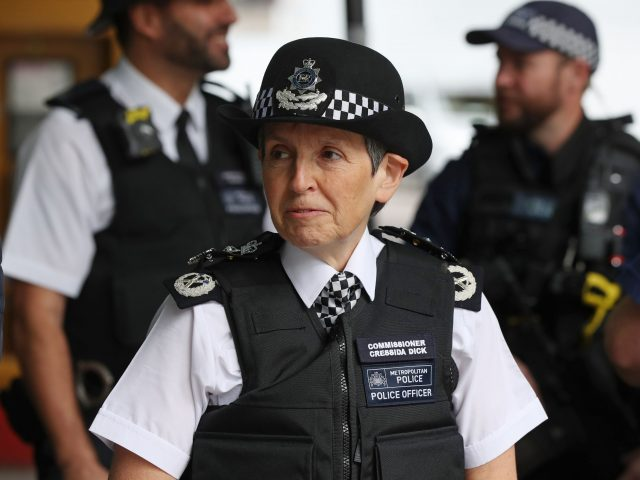 Cressida Dick said the Met has taken thousands of knives off the streets (Jonathan Brady/PA)
