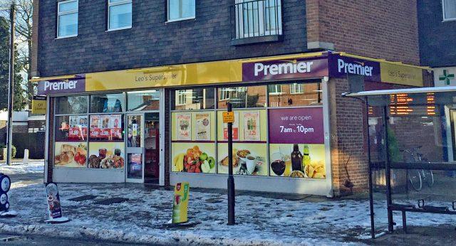 The Leicester store where owner Sibu Kuruvilla subdued a gunman (Richard Vernalls/PA)