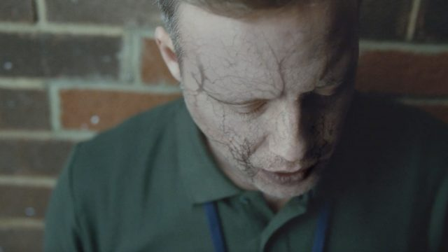 The hard-hitting new advert urges the country's seven million smokers to quit (Public Health England/PA)