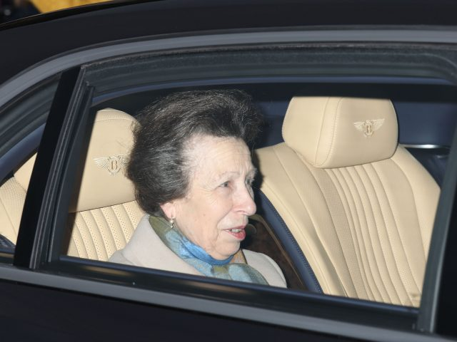 The Princess Royal spent 172 days on public engagements this year (Philip Toscano/PA)