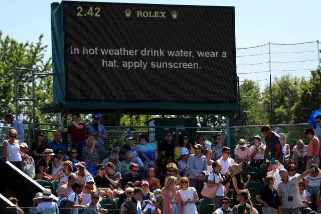 Wimbledon in July