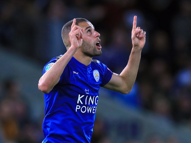 Watford and Newcastle are set to battle it out for Leicester's Islam Slimani