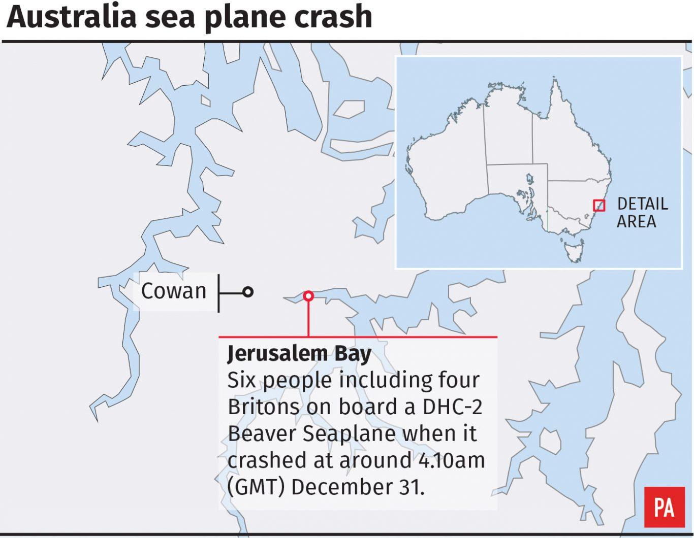 Australia sea plane crash