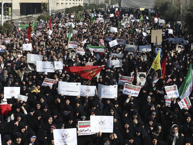 Iran unrest: Nine dead in overnight clashes - state media